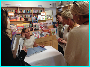 Aerin Lauder at Beauty At Home book signing held January 17th, 2014